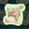 西洋式の木のベッドの設計図