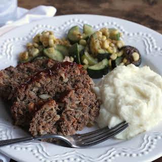 Traditional Meatloaf.