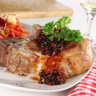 Pork Loin Chops with Hoisin-Honey Glaze Recipe