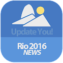 Rio 2016 News (unofficial app) icon