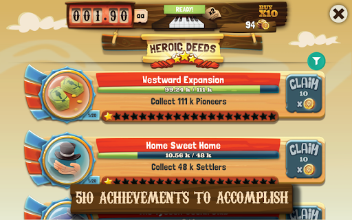 Wild West Saga: Idle Tycoon, Tap Incremental Game (Unreleased)