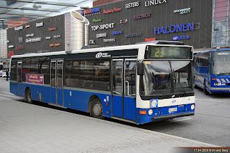 Photo: #46: GEJ-300 ved Leppävaara/Arlberga stasjon, Espoo/Esbo, 17.04.2008.