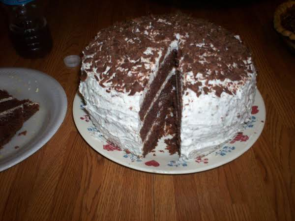 Swiss Chocolate Cake With Hershey Bars