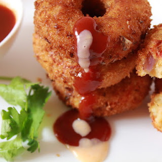 Spicy Mashed Potato Donuts | A Leftover Mashed Potato Recipe