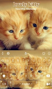 Lovely Cute Kitty Keyboard Theme - náhled