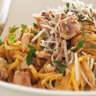 Linguine with Tuna and Anchovy Sauce