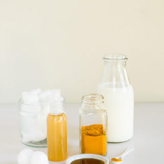 Skin-Improving Turmeric Acne Mask