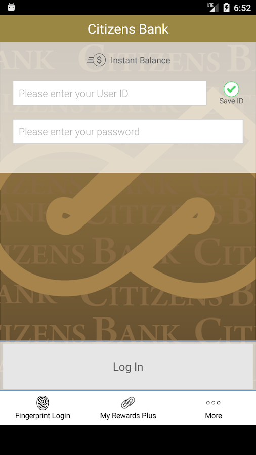 Citizens Bank MO- screenshot