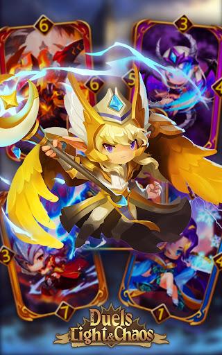 Code Triche Light & Chaos Duels:PvP Card Battles(CCG/TCG) mod apk screenshots 5