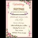Hausa Wedding Invitation icon