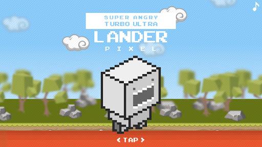 Super Angry Lander Pixel