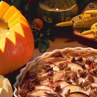 Apple Pie with Pecans.