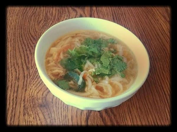 Egg Drop Noodle Soup Recipe