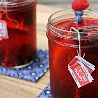 Sparkling Lemon Berry Iced Tea