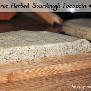 Gluten Free Herbed Sourdough Focaccia