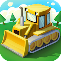 Bulldozer Driver 3D icon