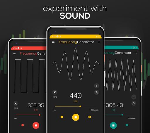 Frequency Sound Generator 2.3 screenshots 1