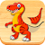 Dino Puzzle - Dinosaur Games for Kids and Toddlers (Unreleased) file APK for Gaming PC/PS3/PS4 Smart TV