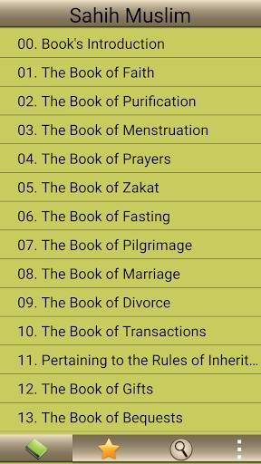 Hadith Sahih Muslim in English