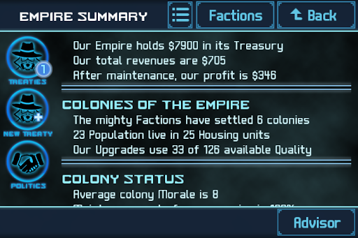 Code Triche Star Traders 4X Empires APK MOD screenshots 5