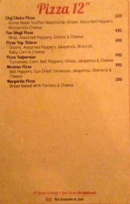Timess Square Restaurant menu 4