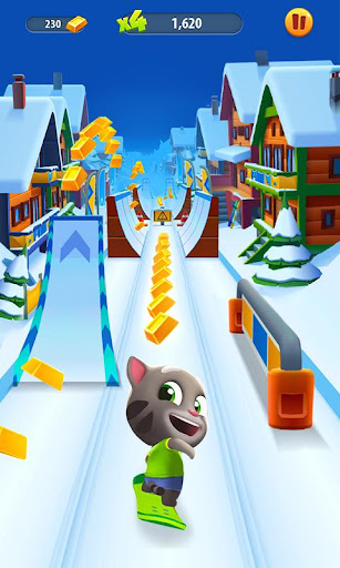 Talking Tom Gold Run screenshot 3
