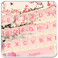 Pink Plum Blossom Keyboard Theme
