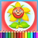 Flower Coloring Kids icon