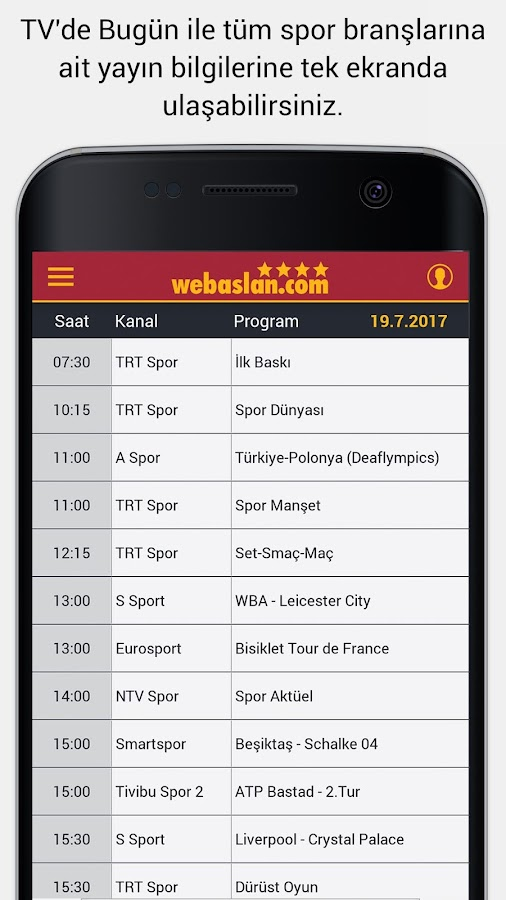Webaslan - Galatasaray Haber- screenshot