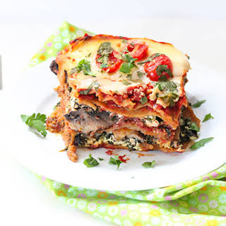 Slow Cooker Vegetable Lasagna.