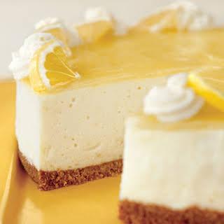 Lemon Curd Mousse Cake.