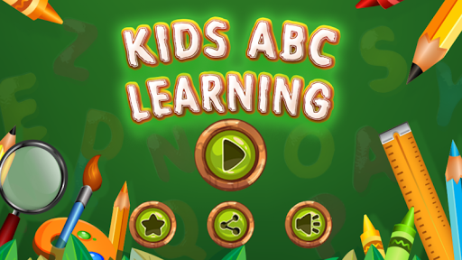 Kids ABC Learn and Write NoAds app for Android screenshot