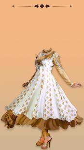 Anarkali Dresses Photo Suit - náhled