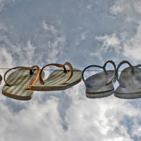 Hanging Slippers by Mj Loyola Ganitano - Artistic Objects Other Objects