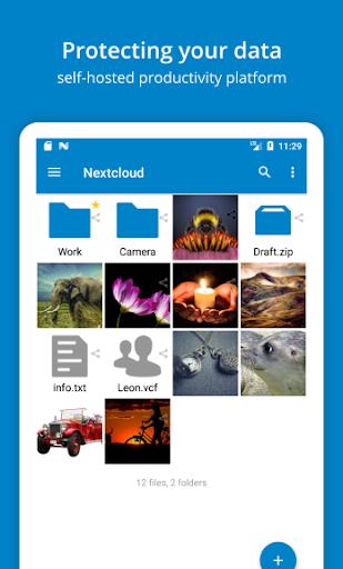 Nextcloud modavailable screenshots 1