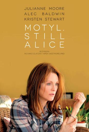 Polski plakat filmu 'Motyl. Still Alice'