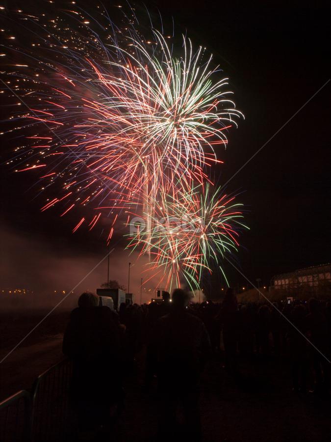 November 5th by Thomas Cochrane - Public Holidays Other ( bonfire night, scotland, guy fawlkes, uk., fireworks, november 5th )