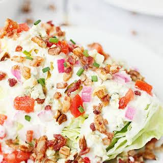 Loaded Wedge Salad.