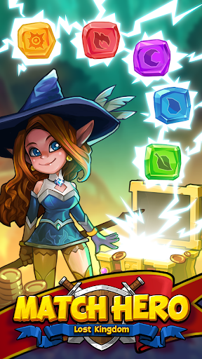 Match Hero: Legendary Puzzle RPG  captures d'u00e9cran 1