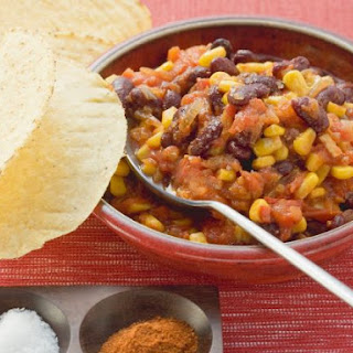 Red Bean Chili with Tacos