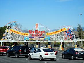 Photo: Six Flags Magic Mountain in Santa Clarita, CA