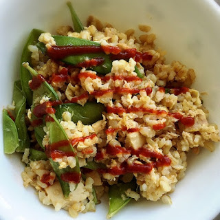 Sriracha Tuna Fried Rice.