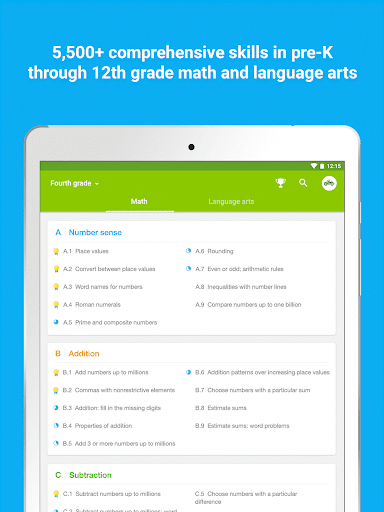 IXL - Math and English Screenshot
