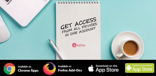 Set and access your notes anytime anywhere from any device for free