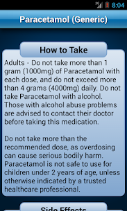 Drugs Dictionary Offline: FREE App Download For Android and iPhone 4
