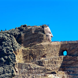 Monument to Crazy Horse by Michael Villecco - Buildings & Architecture Statues & Monuments (  )