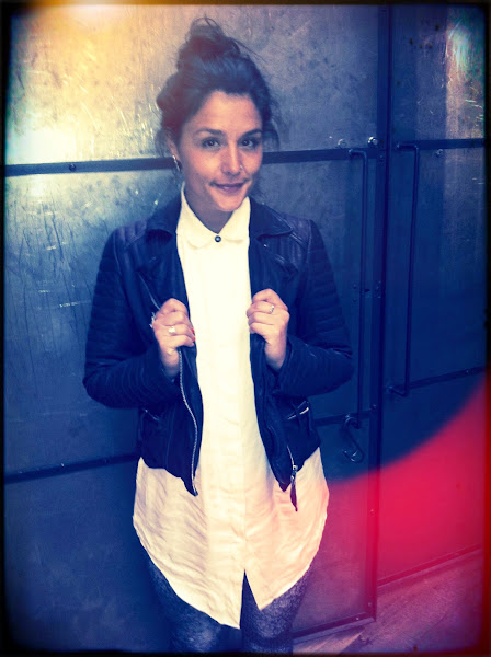 Photo: Spotted // Jessie Ware trying on our Oxblood Jacket and Solstice shirt. What a great combo!!  Shop Jessie's Look here>> Oxblood Jacket>> UK> http://bit.ly/THpX3h US> http://bit.ly/PfOc8v  Solstice Shirt>> UK> http://bit.ly/OAtDEK US> http://bit.ly/PfOgoA
