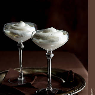 Easy Chai Spiced White Chocolate Mousse.