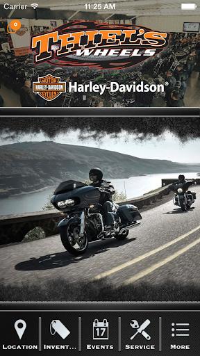 Thiel's Wheels Harley-Davidson