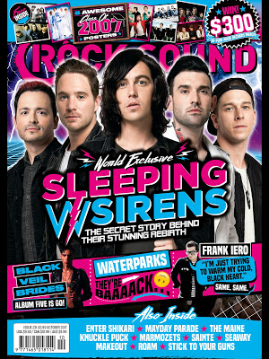 Rock Sound Magazine - screenshot